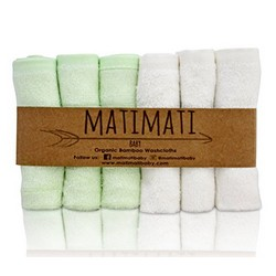 Matimati Bamboo Baby Washcloths