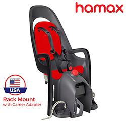 best hamax caress child baby bike seat